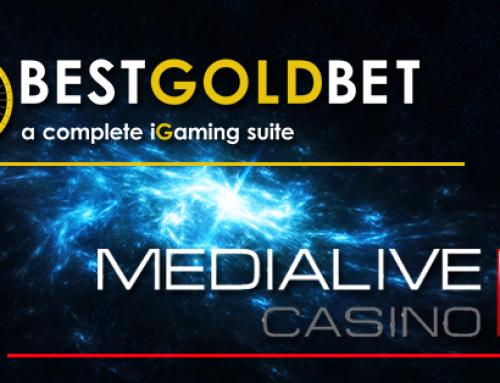 Bestgoldbet: accordo con MedialiveCasino per Baccarat, Blackjack e Roulette in modalità live