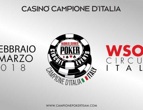 WSOP Circuit Italy, Casinò di Campione d'Italia