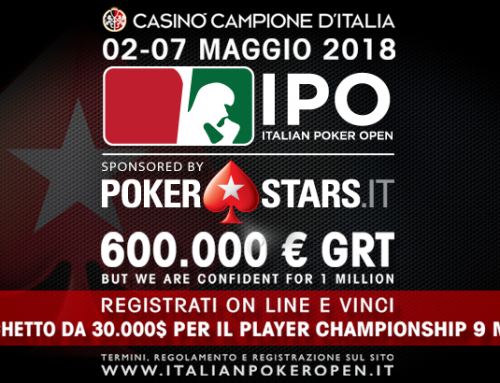 Le date del prossimo IPO sponsored by PokerStars.it