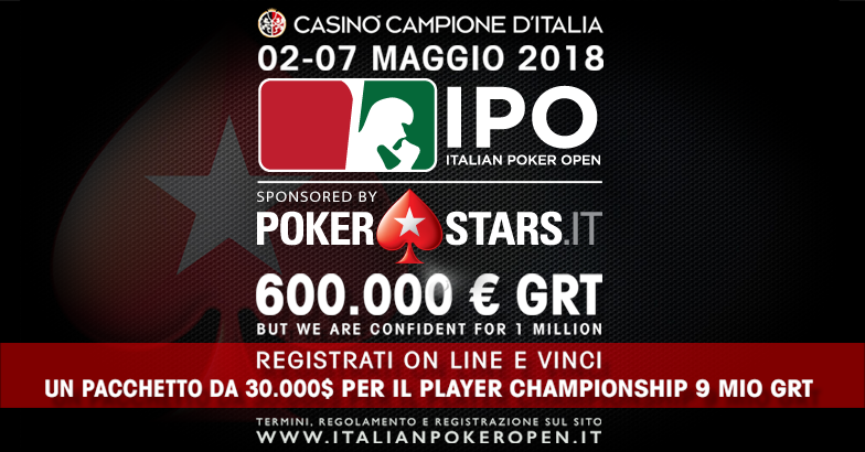 IPO sponsored by PokerStars.it